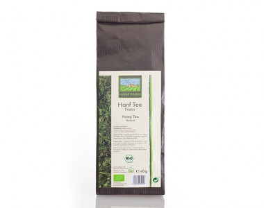 Organic hemp tea natural 40g