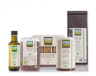 Test set organic hemp foods