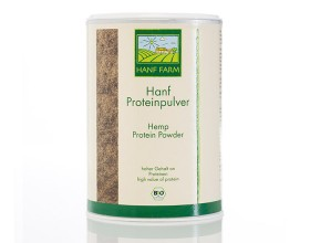 Organic hemp protein powder 400g