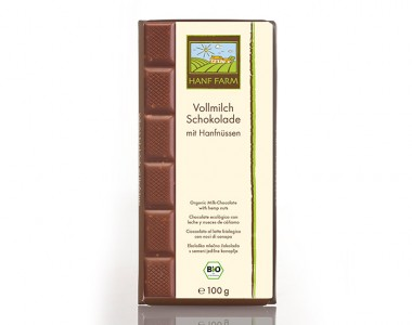 Organic milk chocolate 100g